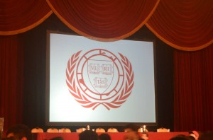 Photo taken during the closing ceremony of the HNMUN 2014 at the Boston Park Plaza.